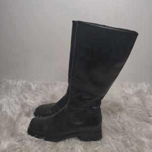 Aquatalia weatherproof leather boot sz 8.5
